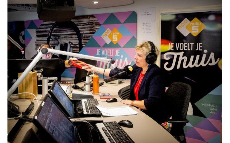 Jeroen van Inkel studio NPO Radio 5